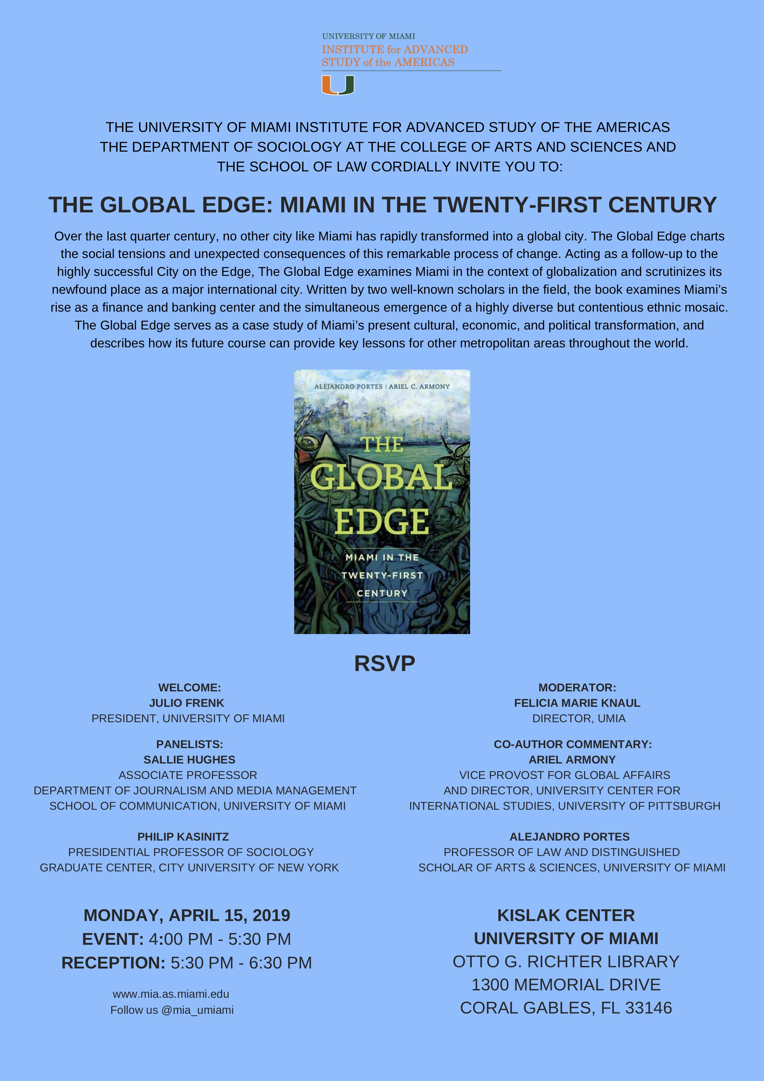 The Global Edge: Miami in the Twenty-First Century